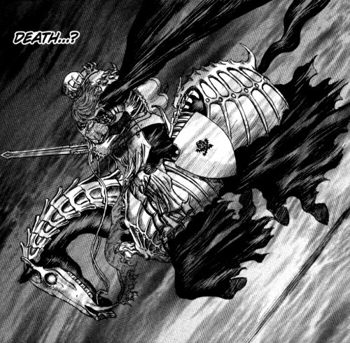 why does the skull knight help guts 2